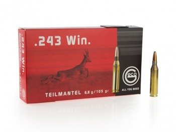 Amunicja .243 Win GECO Teilmantel 6.8g/105gr (20 szt.)