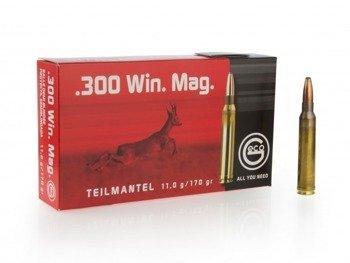 Amunicja .300 Win Mag GECO Teilmantel 11g/170gr (20 szt.)