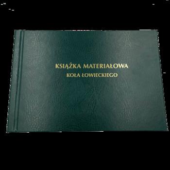 Książka Materiałowa Koła Łowieckiego