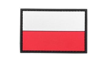 Naszywka 3D Flaga Polski duża