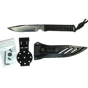 Nóż Wildsteer Wild Tech 4 satin combo blade - powystawowy