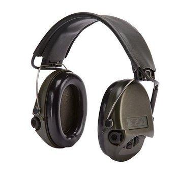Ochronniki Słuchu Sordin Supreme Basic zielone nagłowne
