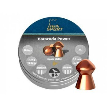Śrut diabolo H&N Baracuda Power 5,5 mm 200 szt.