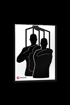 Tarcza Trainshot - Hostage