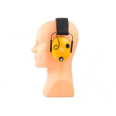 Aktywne ochronniki słuchu RealHunter ACTiVE pomarańczowe