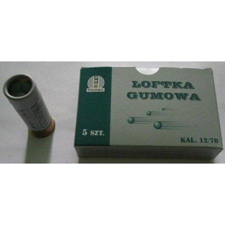 Amunicja 12/70 Pionki loftka gumowa (5 szt.)