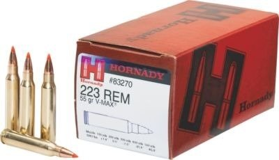 Amunicja .223 Rem Hornady v-max 3,56g/55gr (50 szt.)