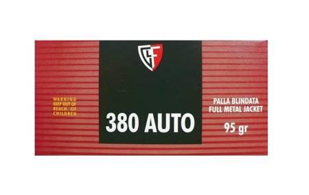 Amunicja 380 Auto Fiocchi FMJ 6,16g/95gr (50 szt.)