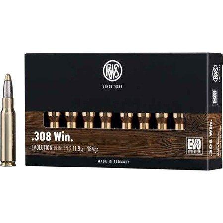 Amunicja kal. 308Win RWS Evolution 11,9g/184gr (20 szt)
