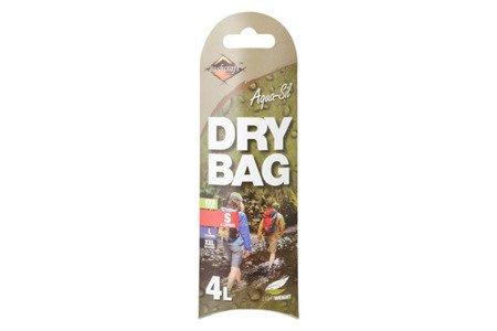 BCB Ultralight Dry Bag 4L Ruby Red