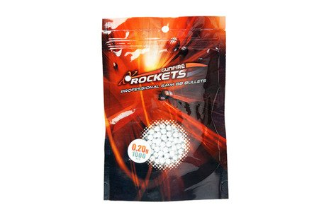 Kulki Rockets Professional 0,20g - 1000 szt.