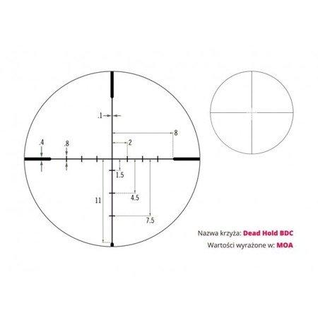 Luneta celownicza Vortex Crossfire II 4-12x44 1'' BDC MOA