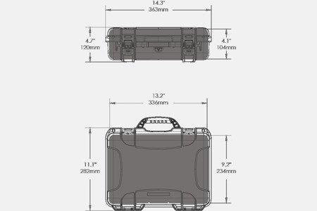NANUK 910 DJI™ OSMO Grafitowy