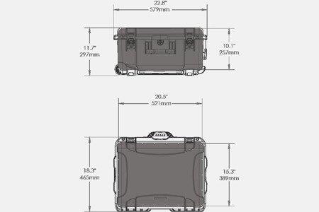 NANUK 950 DJI™ RONIN-M Czarny