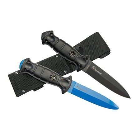 Nóż bojowy Wildsteer W Fighter + nóż treningowy