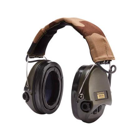 Ochronniki Słuchu Sordin Supreme Pro-X LED zielone nagłowne