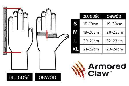 Rękawice taktyczne Armored Claw Quick Release™ - oliwkowe