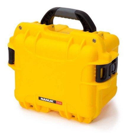 Skrzynia transportowa Nanuk 908 żółta - bez wypełnienia
