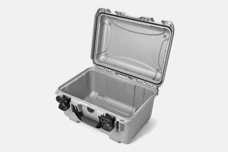 Skrzynia transportowa Nanuk 918 srebrna - bez wypełnienia
