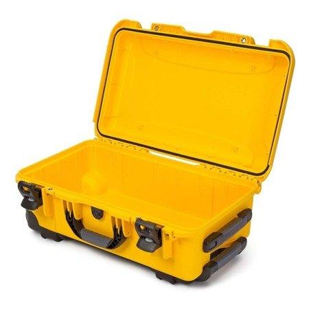 Skrzynia transportowa Nanuk 935 żółta - wkład modułowy FOTO