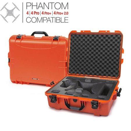 Skrzynia transportowa Nanuk 945 DJI™ PHANTOM 4 pomarańczowa
