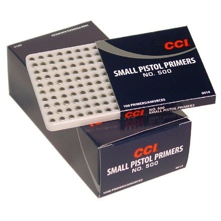 Spłonki pistoletowe małe CCI (100 szt.)