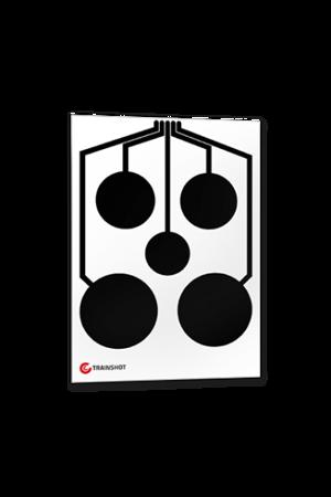 Tarcza Trainshot - Circles